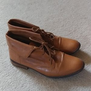Steve madden ankle boots worn a few times EUC